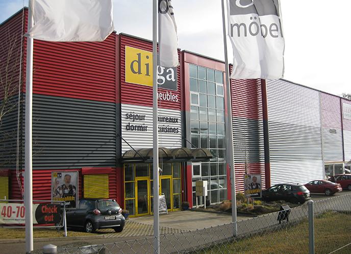 Möbelhaus Fribourg Granges Paccot L Diga Möbel Schweiz